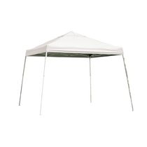 Sport 12  x 12  White Slant Leg Pop-Up Canopy