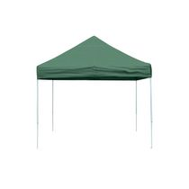 Pro 10  x 10  Green Straight Leg Pop-Up Canopy