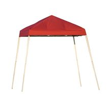 Sport 8  x 8  Red Slant Leg Pop-Up Canopy