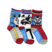 Thomas the Train Boys' Crew Socks, Pack of 3 8-10