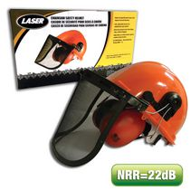LASER Chainsaw Safety Helmet