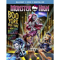 Monster High: Boo York, Boo York (Blu-ray + DVD + Digital HD) (Bilingual)