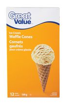 Great Value Waffle Cones