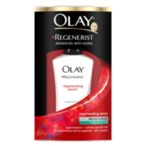Olay Regenerist Advance Anti-Aging Daily Regenerating Serum Moisturizer, Fragrance Free