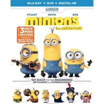 Minions (Blu-ray + DVD + Digital HD) (Bilingual)
