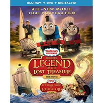 Thomas & Friends: Sodor's Legend Of The Lost Treasure - The Movie (Blu-ray + DVD + Digital HD) (Bilingual)