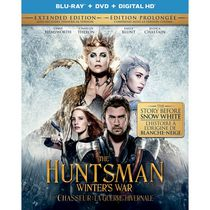 The Huntsman: Winter's War (Extended Edition) (Blu-ray + DVD + Digital HD) (Bilingual)