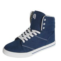 G21 Men's High Top Lace Up Shoe Navy 7