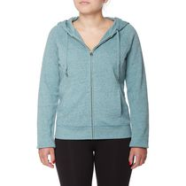 Danskin Now Women's Plus Size Signature Hoodie Gray 3X