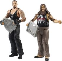 WWE Battle Bray Wyatt and Undertaker Figures, 2-Pack