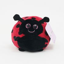 Friend's Boutique Roly Poly Plush Friends, 5 inch - Lady Bug