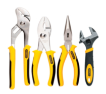 Stanley 4 Piece Plier/Wrench (84-558)