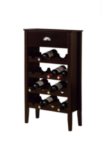 Monarch Cappuccino Wine Rack For 16 Bottles