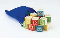 kid connection Wooden Alphabet Blocks