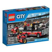 LEGO City Great Vehicles - Racing Bike Transporter (60084)