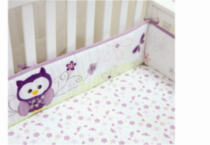 "Baby's First by Nemcor-""Very Berry Owl"" Bumper"