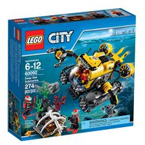 LEGO(MD) City Deep Sea Exploration - Le sous-marin (60092)