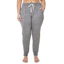 Danskin Now Women's Plus Size Slim Leg Joggers Gray 2X