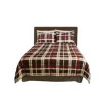 Bed-in-a-Bag – Black Plaid Queen