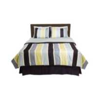 Bed-in-a-Bag – Blue Stripe Queen