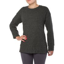 Danskin Now Women's Textured Turtleneck Black XL/TG
