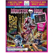 Monster High: Une Comédie Musicale Monstrueuse ! (Blu-ray + DVD + HD Numérique + Renest Marnite) (Exclusivité Walmart) (Bilingue)