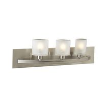 Atlas 3-Light Satin Nickel Bath Vanity