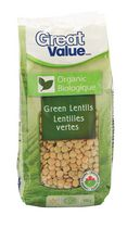 Great Value Organic Green Lentils