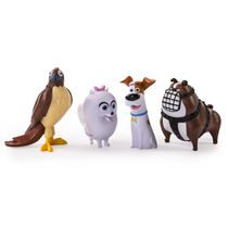 The Secret Life of Pets Mini Pets Collectible Action Figures - Pack of 4