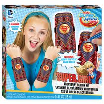 Ensemble de création d'accessoires DC Super Hero Girls Supergirl de Fashion Angels