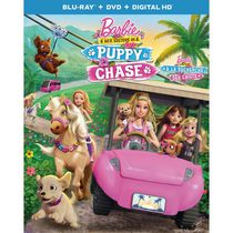 Barbie & Her Sisters In A Puppy Chase (Blu-ray + DVD + Digital HD) (Bilingual)