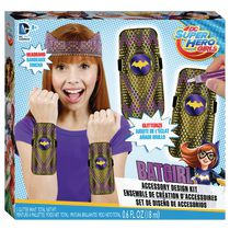 Ensemble de création d'accessoires DC Super Hero Girls Batgirl de Fashion Angels