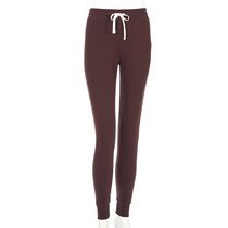 g:21 Women's Fleece Jogger Pants Burgundy XXL