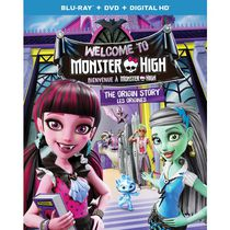 Monster High: Welcome To Monster High - The Origin Story (Blu-ray + DVD + Digital HD) (Bilingual)