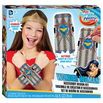 Ensemble de création d'accessoires DC Super Hero Girls Wonder Woman de Fashion Angels