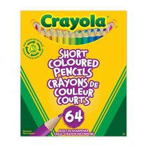 Crayola Short Coloured Pencils