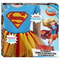 Ensemble de création de tutus DC Super Hero Girls Supergirl de Fashion Angels