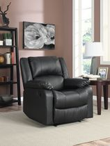 Lifestyle Douglas Recliner Black