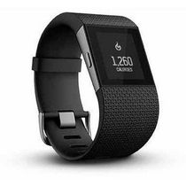 Fitbit Surge Wireless Fitness Activity Tracker Black Large
