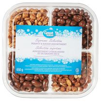Sélection suprême assortiment d'arachides et de raisins secs Great Value