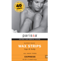 Parissa Wax Strips Super Pack Legs & Body 40ct