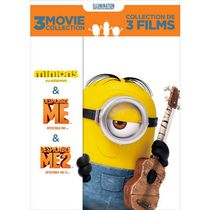 Despicable Me 3-Movie Collection: Despicable Me / Despicable Me 2 / Minions (Bilingual)