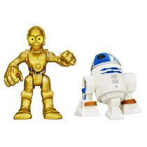 Playskool Heroes Star Wars Galactic Heroes R2-D2 and C-3P0 Figure