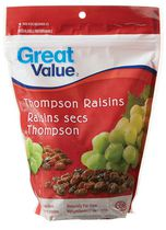 Raisins secs Thompson de Great Value