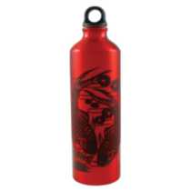 Gaiam Water Bottle-Koi Fish Print 750Ml (Red)
