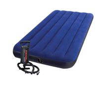 Intex Twin Downy Air Mattress with Mini Hand Pump