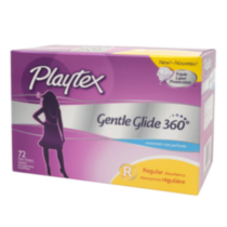Playtex® Gentle Glide® Regular Unscented Tampons - 72 count