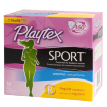Playtex® Sport™ Regular Unscented Tampons 36 Count