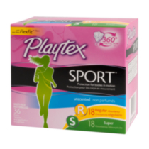 Playtex® Sport™ Regular & Super Absorbency Multi-Pack Tampons