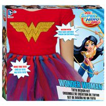 Ensemble de création de tutus DC Super Hero Girls Wonder Woman de Fashion Angels